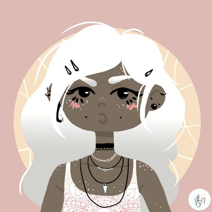 Unimpressed Girl #3