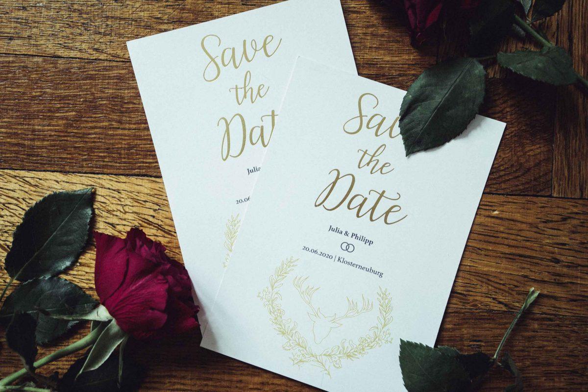 J & P Wedding Save the Date