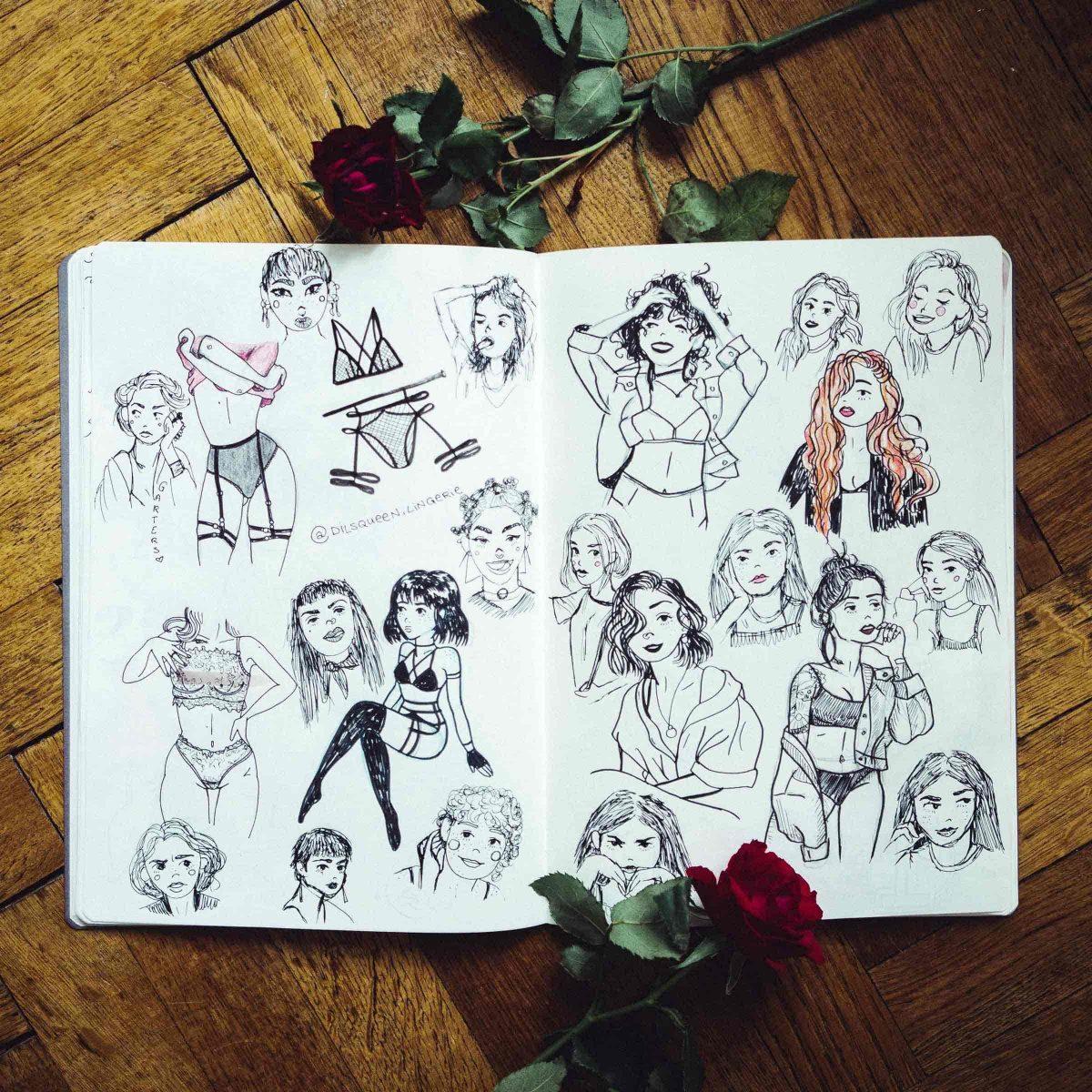 Lingerie Girls Fullpage